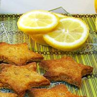 Sablés au citron sans gluten