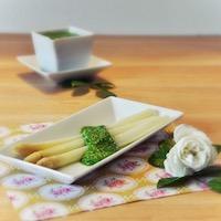 asperges sauce verte