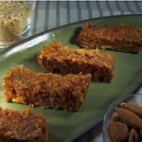 Barres de céréales au quinoa sans gluten