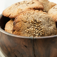 Biscuits paléo à l'okara d'amandes (sans gluten, sans sucre, sans œuf, sans lactose)