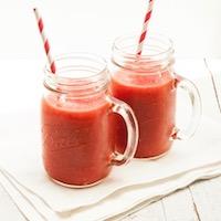 boisson fraise/pastèque