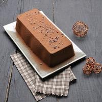Bûche de Noël chocolat/noisettes sans gluten