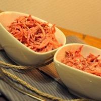 Coleslaw de légumes racines