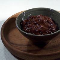 Confiture poire/chocolat