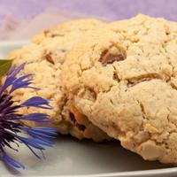 Recette sans gluten : cookies chocolat / amande