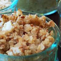 Crumble de fenouil sans gluten