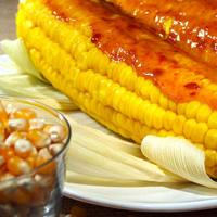 épis de maïs à la crème de soja