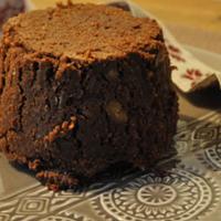 Recette sans oeuf : gâteau chocolat / marron