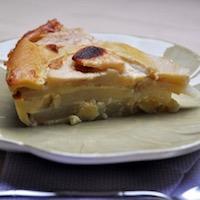 Gâteau aux poires sans sucre et sans gluten