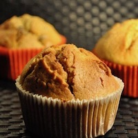 Muffin potiron, raisin sec et épices sans gluten