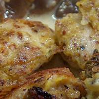 Recette bio rapide de poulet pané aux amandes