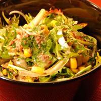 Salade de pissenlit aux sardines
