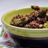 salade quinoa asperge