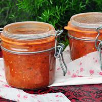 Conserve de sauce tomate aux herbes