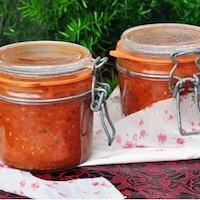 conserve sauce tomate herbes