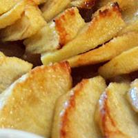 Recette sans gluten tarte aux pommes saveur noisette