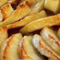 Tarte aux pommes saveur noisette sans gluten