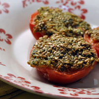 Tomates provençales sans gluten