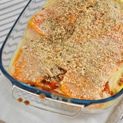 Lasagnes végétales à la courge butternut