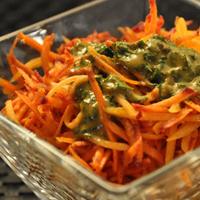 Salade de carotte et de potiron