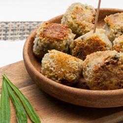 Recettes de boulettes de pommes de terre au plantain lancéolé