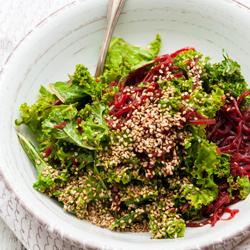 Salade de chou kale détox